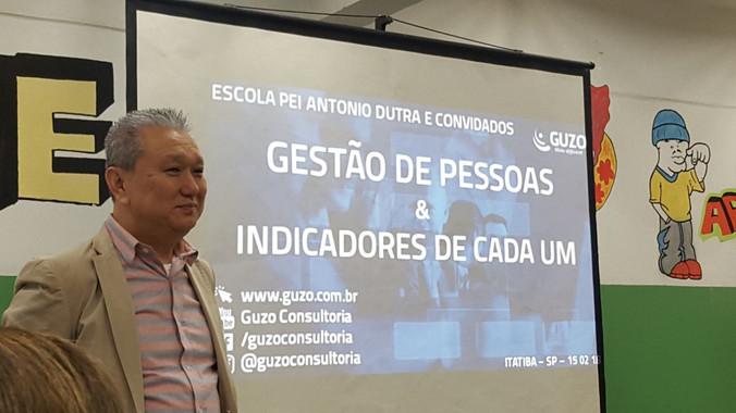 Formação Gestão de Pessoas e Indicadores de cada um na E.E. Ensino Integral Antonio Dutra de Itatiba