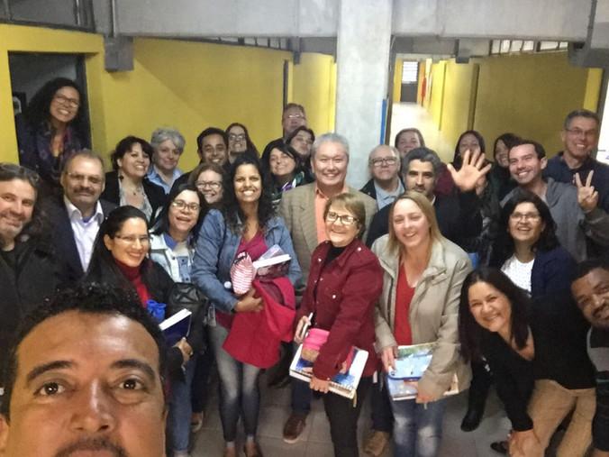 Formação para professores e Equipe Gestora da Escola Pedro Cia em Santo André - SP