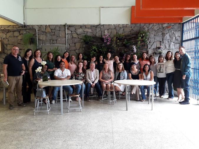 Palestra na Escola Cristina Fittipaldi em Santo André - SP