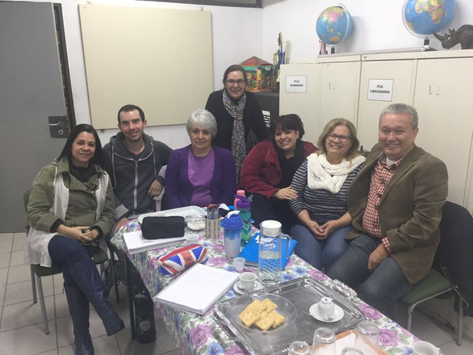 Encontro com a Equipe Gestora da Escola Educador Pedro Cia
