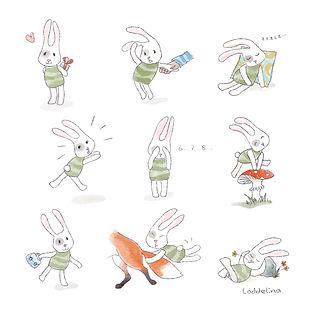 loddelina illustration children book