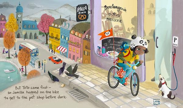 children kid book illustration loddelina