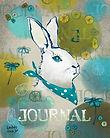 bunny journal cover illustration loddelina