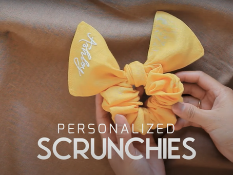 How to Make Personalized Scrunchies - Unique DIY Accessories