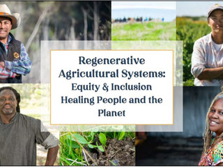 Equity and Inclusion in Regenerative Agriculture