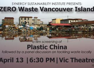 Synergy Sustainability Institute Presents ZERO Waste Vancouver Island