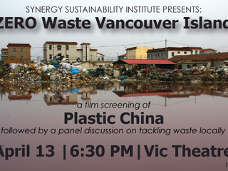 Synergy Sustainability Institute Presents ZERO Waste Vancouver Island