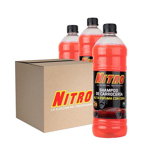 Pack de 15 Productos Nitro / Shampoo de Carrocería Alta Espuma y Cera de 900 ML