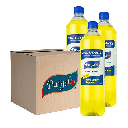 Pack de 15 Purigel Sanitizante de 1L
