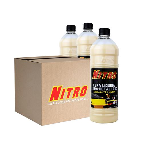 Pack de 15 Productos Nitro / Cera Liquida para Detallado de 900 ML
