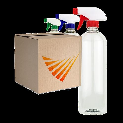 Pack de 15 Botes con Atomizador de 900 ml