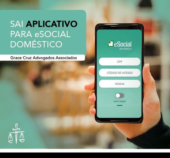 Empregador doméstico agora tem aplicativo e-Social no smartphone