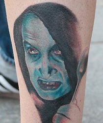 Ginosaji Leg Tattoo by Matze
