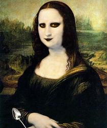 Mona Lisa Ginosaji by Raj Koppher