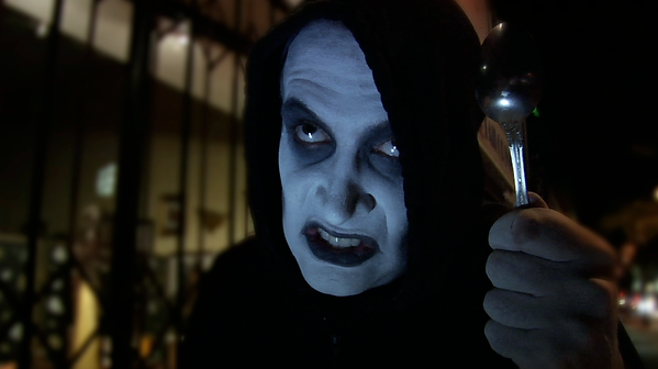 Brian Rohan as The Ginosaji - The Horribly Slow Murderer with the Extremely Inefficient Weapon
