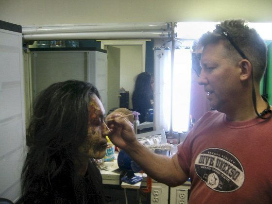 Dean Jones - Special FX Makeup Artist with Fay Kato - GINOSAJI - The Horribly Slow Murderer with the Extremely Inefficient Weapon