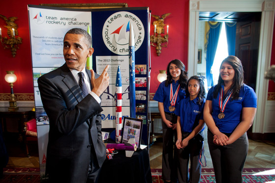 President Obama Touts STEAM Education