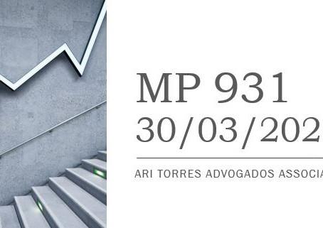 MP 931 prorroga o prazo para as assembleias/reuniões de aprovação de contas das S.As e LTDAs.