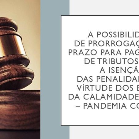 No âmbito judicial: A possibilidade de prorrogação do prazo para pagamento de tributos