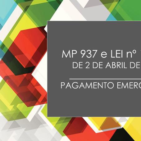 MP 937, de 2 de abril de 2020, abre crédito extraordinário em favor do Ministério da Cidadania.