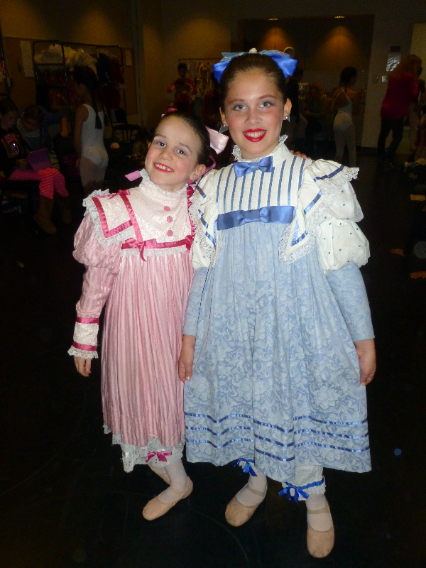 Little Party Girls at The Nutcracker