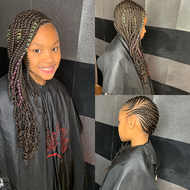 Kids Medium Lemonade Braids