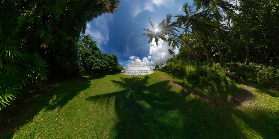 #5 Sri Lanka - Galle - Stupa Jungle Beach
