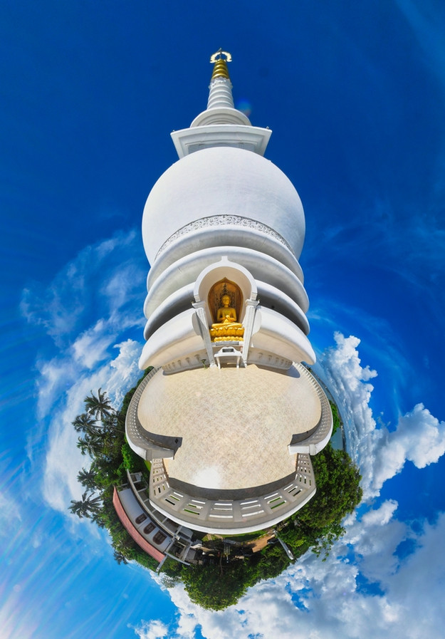 #7 Sri Lanka - Galle - Stupa Jungle Beach