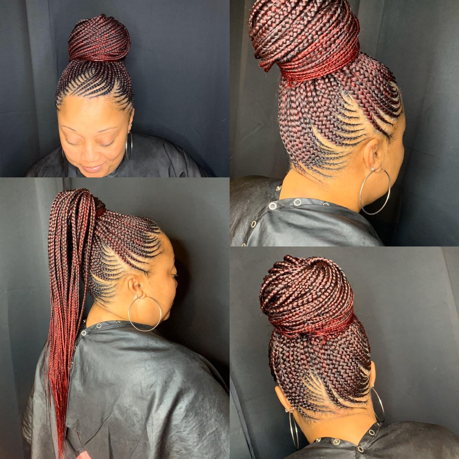 Small feedin ponytail