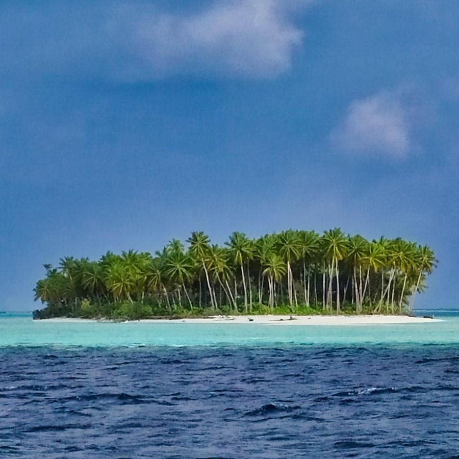 Ilot Au Maldives