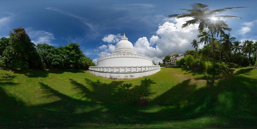 #3 Sri Lanka - Galle - Stupa Jungle Beach