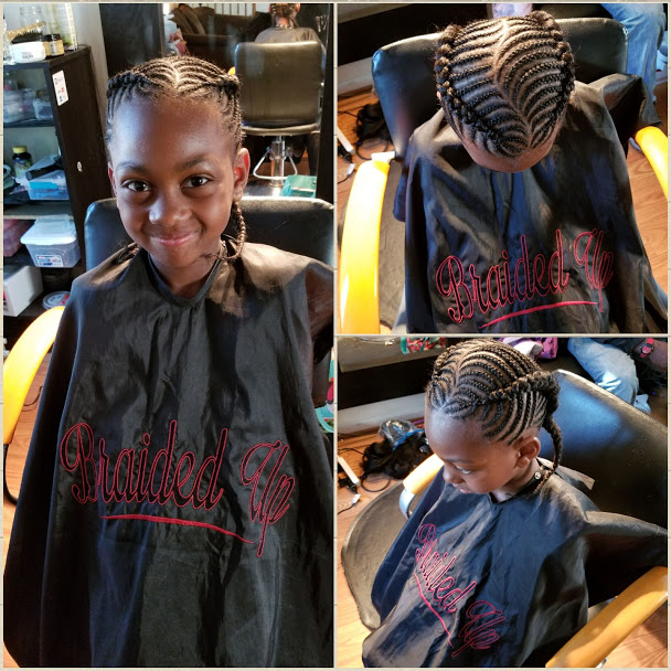 2 Fishbone braids without extensions