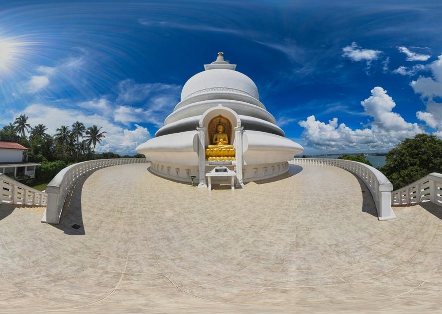 #10 Sri Lanka - Galle - Stupa Jungle Beach