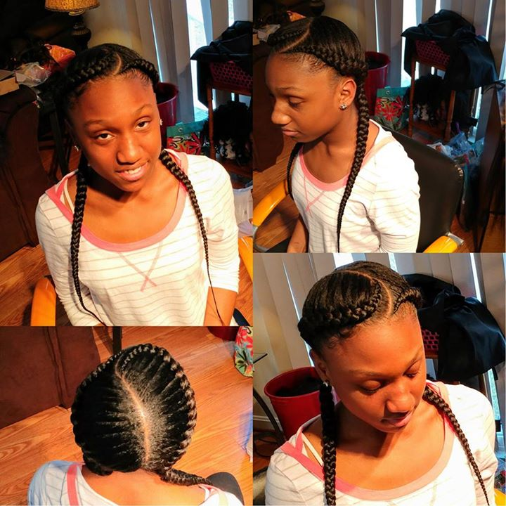 Braided Up Ages 10 Up