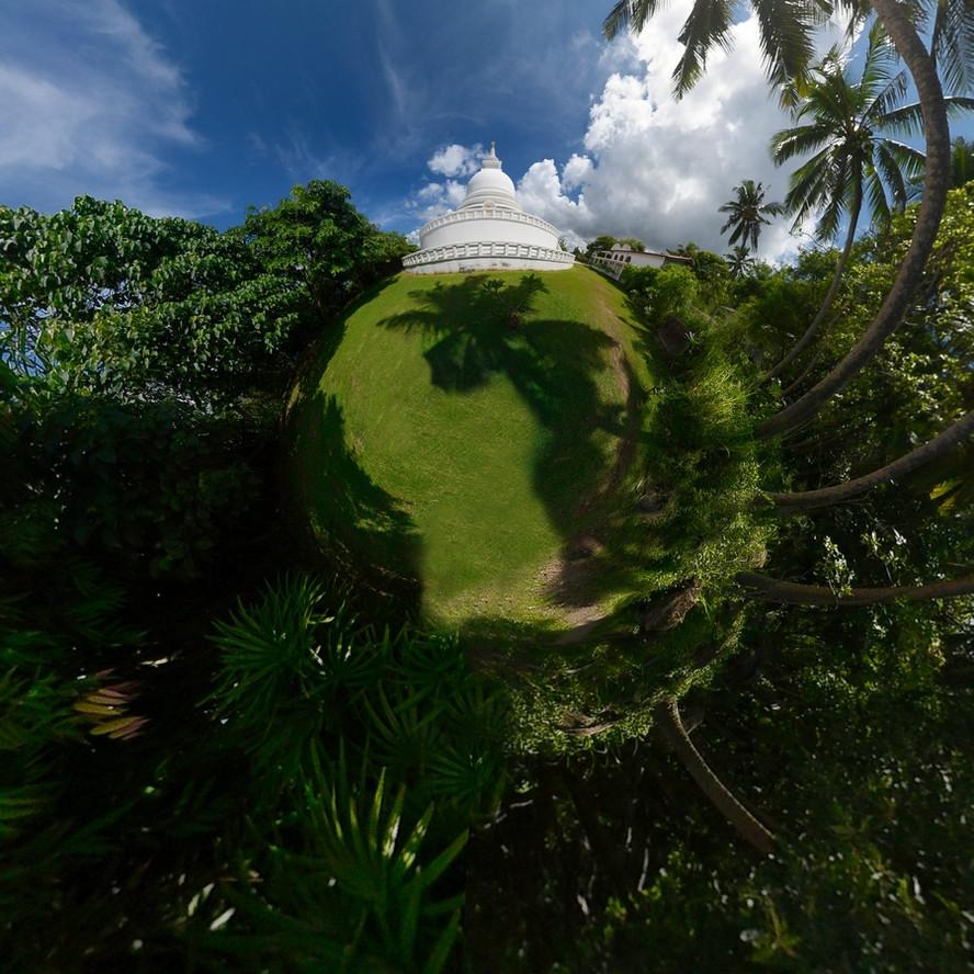 #6 Sri Lanka - Galle - Stupa Jungle Beach