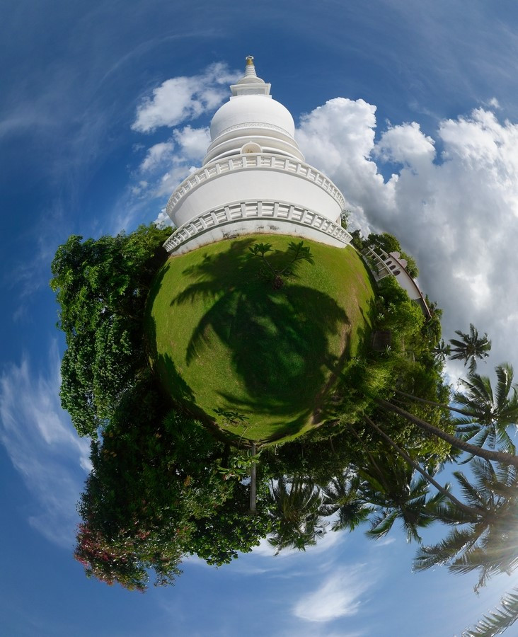 #4 Sri Lanka - Galle - Stupa Jungle Beach