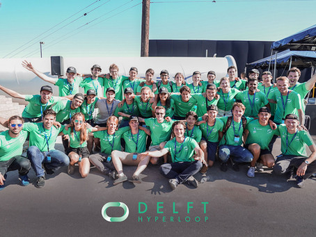 2nd place SpaceX Pod Competition for Delft Hyperloop II