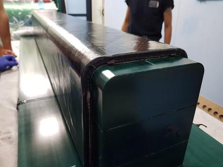 Choosing the pod material: Toray BT250E-1