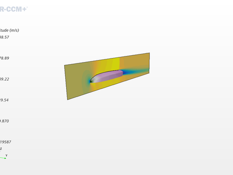 Design of the aerodynamic shell with Femto