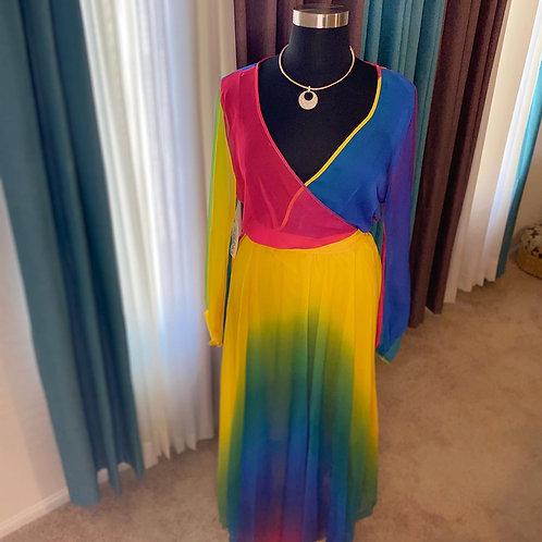 """Over the """"Rainbow"""" Dress"""
