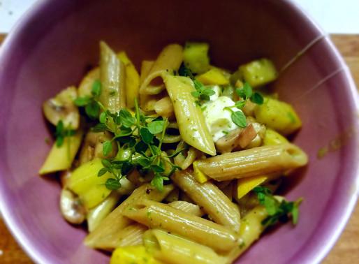 Ayurvedic Summer Pasta