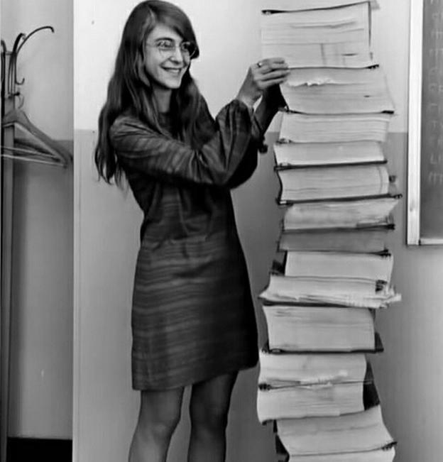 1 ère femme à avoir permis le codage nécessaire à la mission Apollo 11