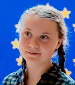 1ere jeune militante suédoise
