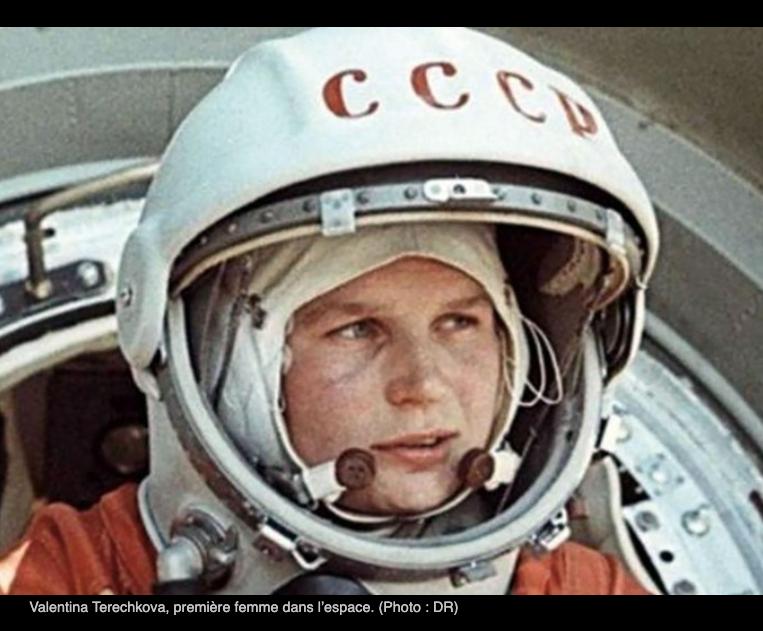 1ere femme a avoir été seule danse l'espace