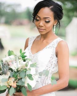 Throwback to this beautiful bride, Nadia