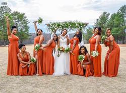 My November 30th Bride and bridal party!