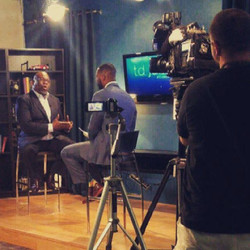 One of many shooting locations for _tdjakesshow _Conversation With America_ airing this Thursday on