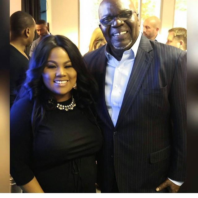 Working with _bishopjakes yesterday was a memorable experience!! I can't wait to watch _tdjakesshow