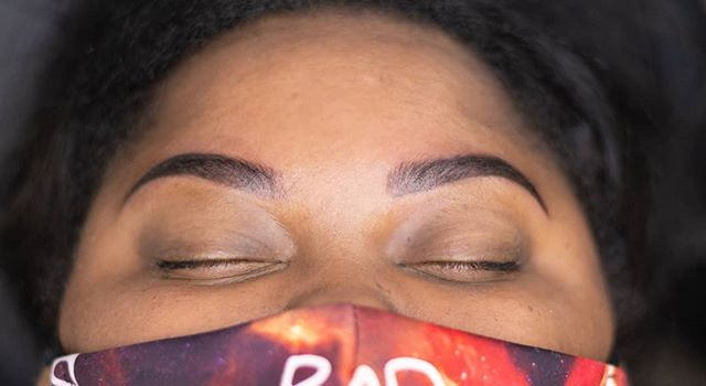 Permanent Makeup! ✍️ 💄Swipe for Before