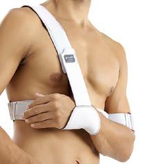 Push med Schulterfixationsbandage